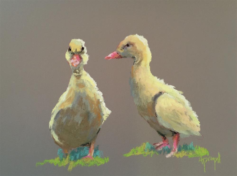 """Little Quackers"" original fine art by Anne Marie Propst"