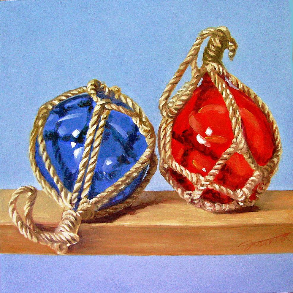 """Holiday At Dock"" original fine art by Joanna Bingham"