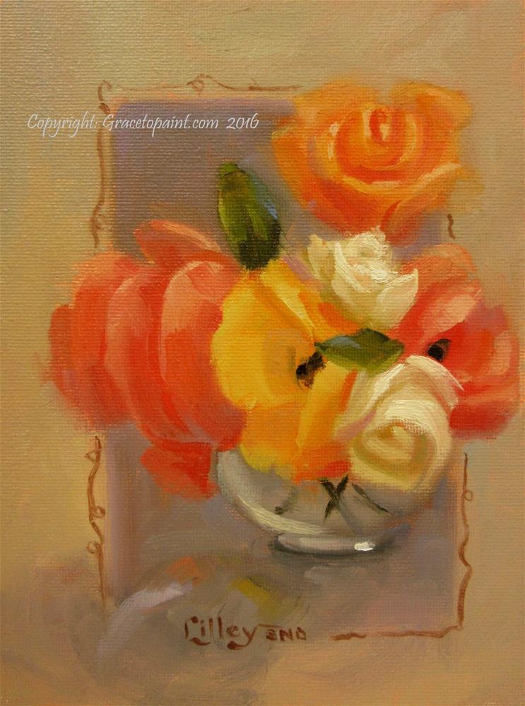 """""""Sunshine Bunch"""" original fine art by Maresa Lilley"""
