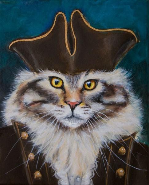"""The Dread Pirate Roberts"" original fine art by Clair Hartmann"