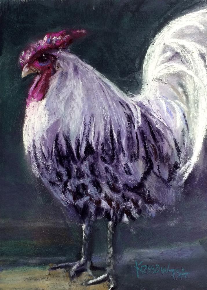 """Dimitri"" original fine art by Cristine Kossow"
