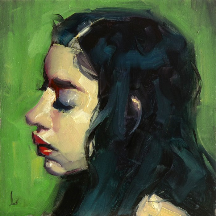 """Visualize"" original fine art by John Larriva"