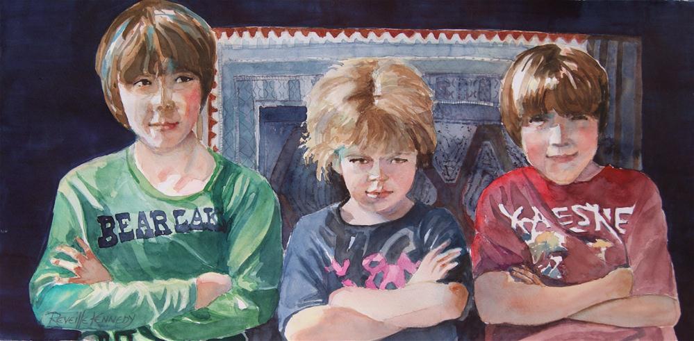 """""""Atttitude is Everything"""" original fine art by Reveille Kennedy"""