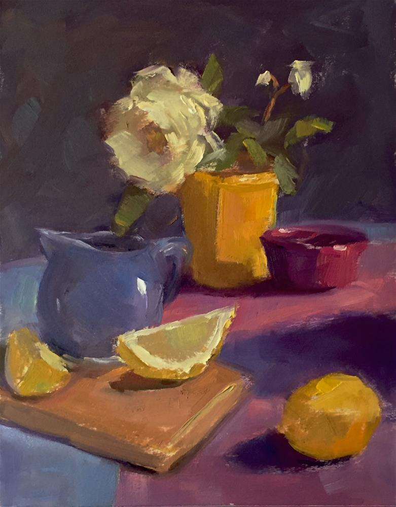 """Color Study"" original fine art by Dana Cooper"