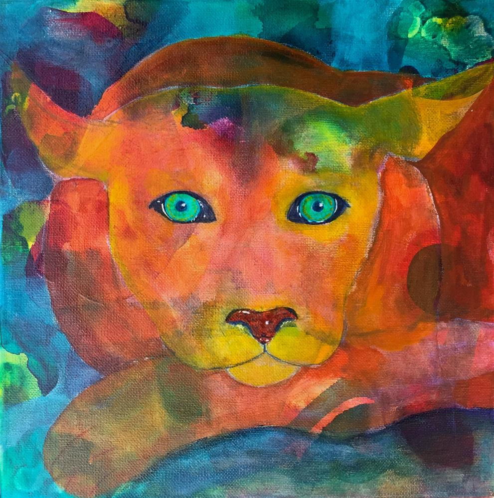 """Keeping Watch"" original fine art by Silke Powers"