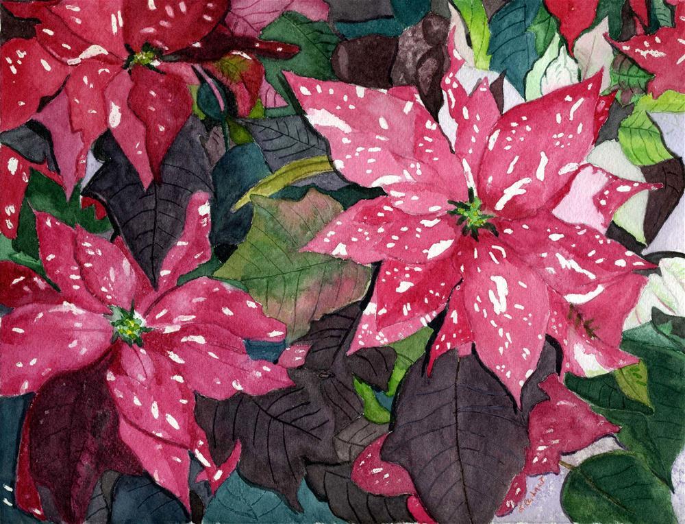 """Christmas Beauty"" original fine art by Lynne Reichhart"