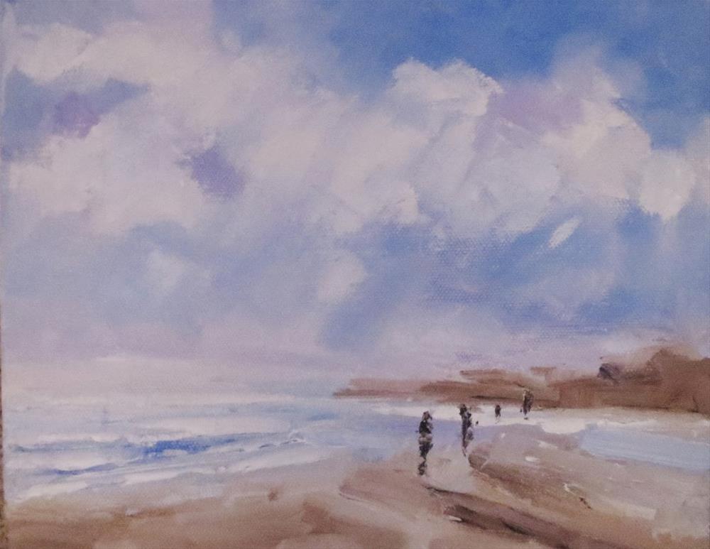 """Seascape"" original fine art by Astrid Buchhammer"