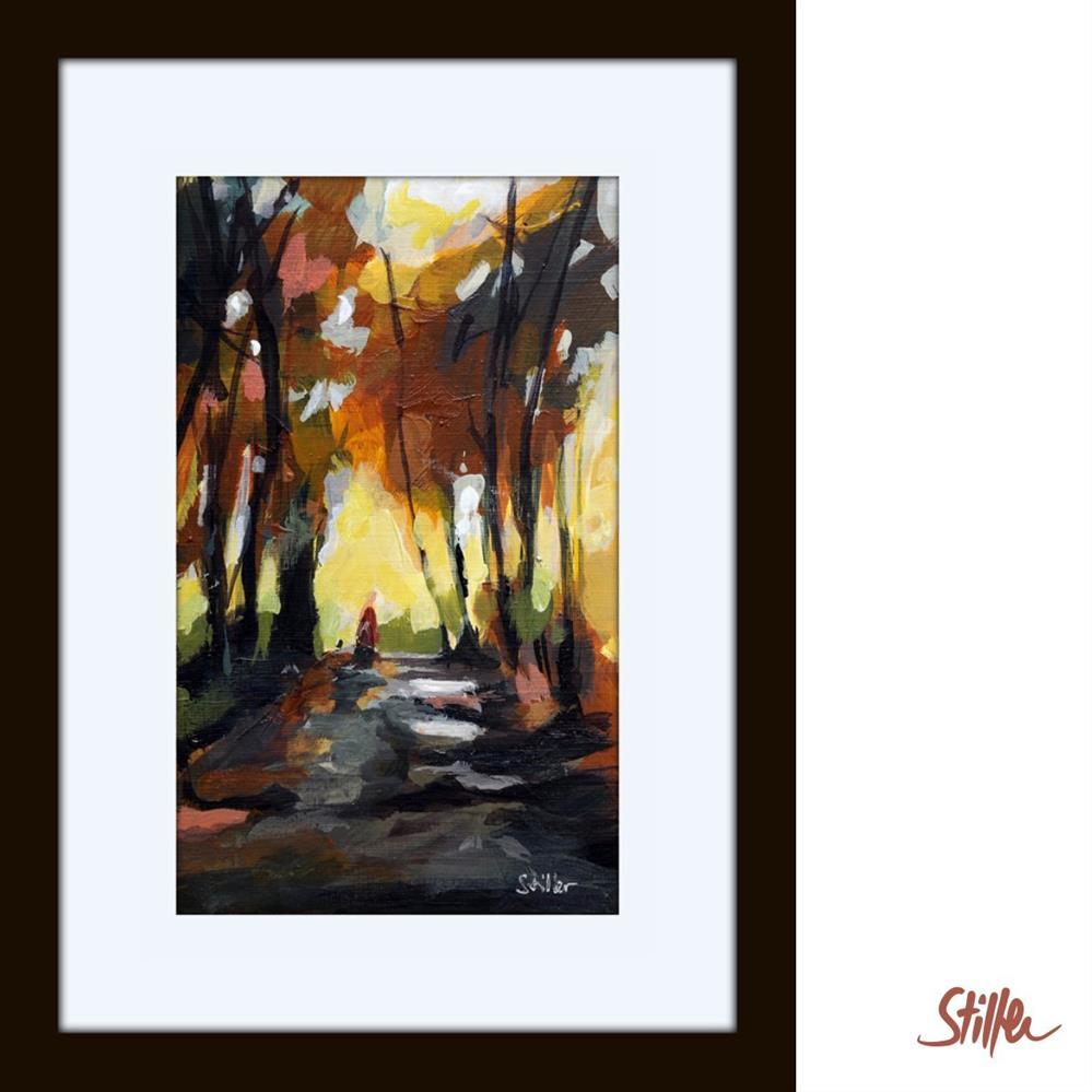 """""""3357 Miniature Woodland III"""" original fine art by Dietmar Stiller"""