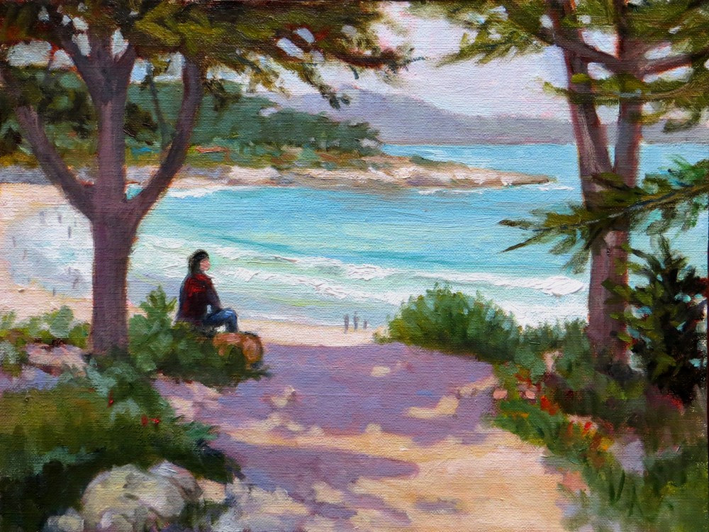 """Enjoying the View"" original fine art by Rhett Regina Owings"