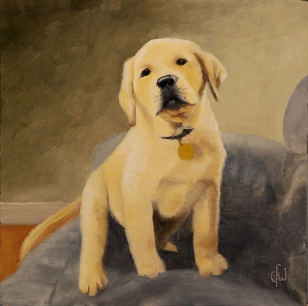 """Finn"" original fine art by Gary Westlake"