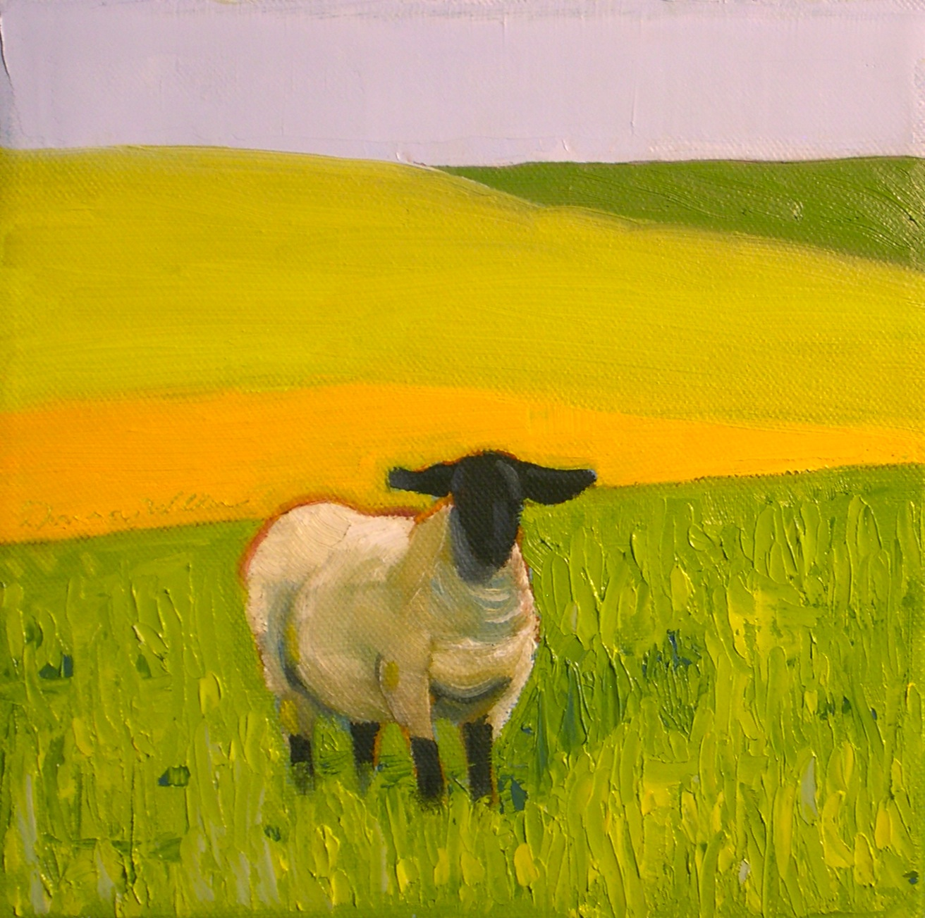 """Roaming"" original fine art by Donna Walker"