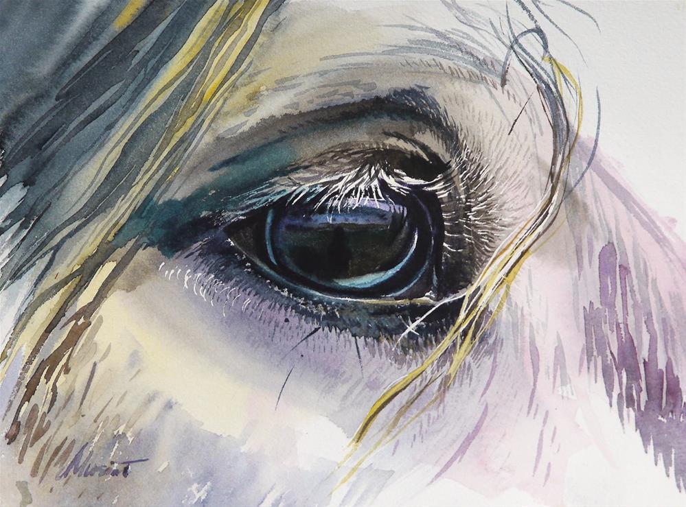 """mirror"" original fine art by Beata Musial-Tomaszewska"