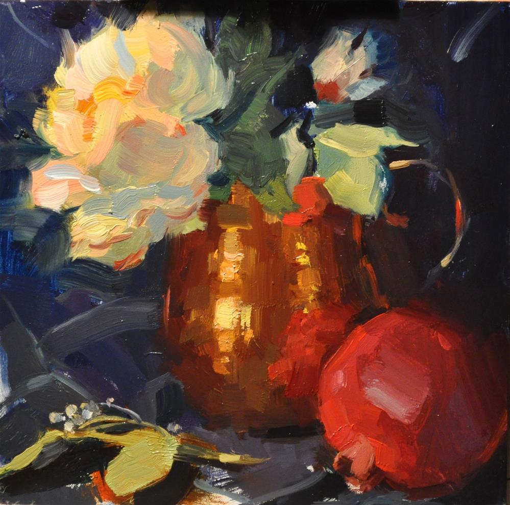 """Holidays Premonition"" original fine art by Emiliya Lane"