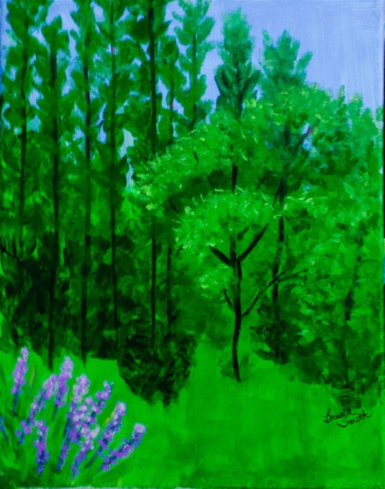 """Florida Forests"" original fine art by Brenda Smith"