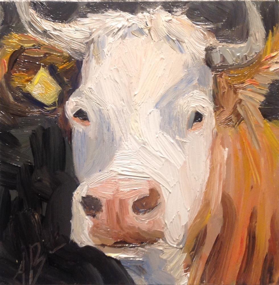 """""""Got milk?"""" original fine art by Annette Balesteri"""