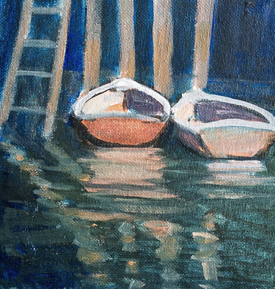 """Boats To Come"" original fine art by Kelley MacDonald"