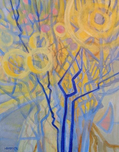 """Sunburst"" original fine art by Nancy Roberts"