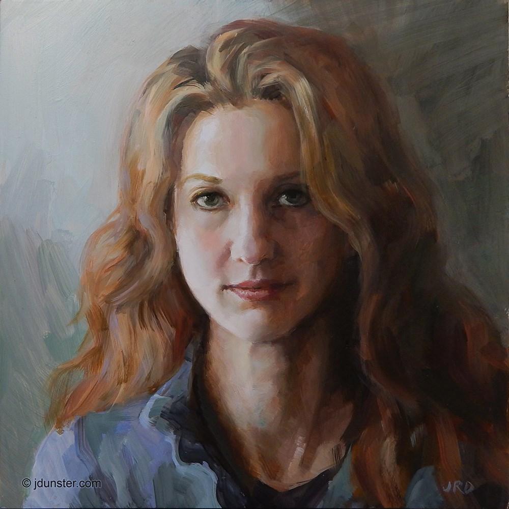 """""""Natalie"""" original fine art by J. Dunster"""