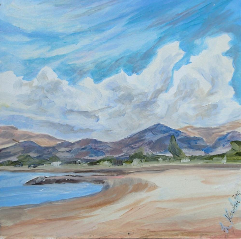 """""""California Coast"""" original fine art by Lauren Kuhn"""