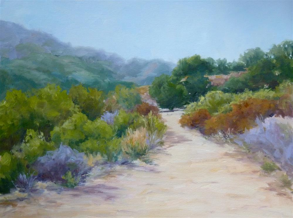 """Canyon Bend"" original fine art by Cindy Greene"