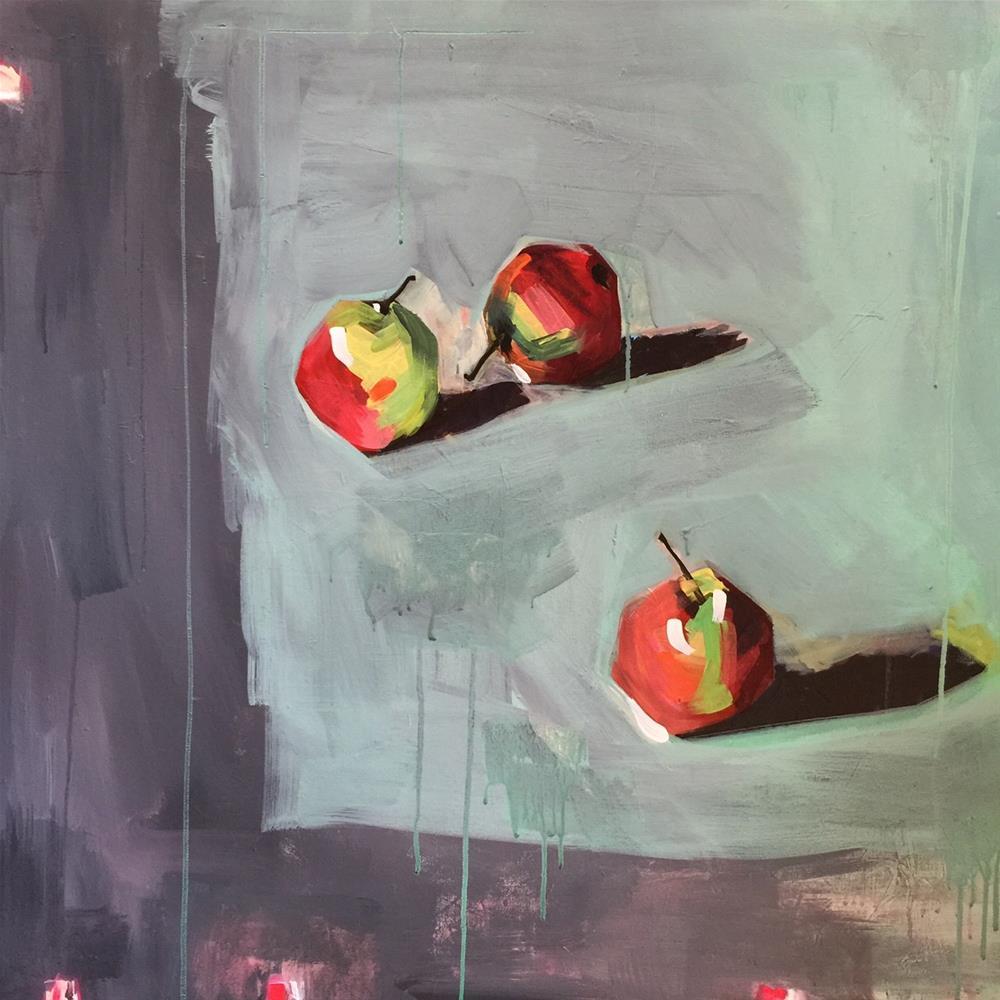 """""""37 Table Service"""" original fine art by Jenny Doh"""