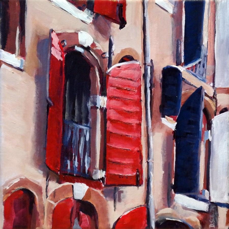 """""""0885 Amsterdam Windows"""" original fine art by Dietmar Stiller"""