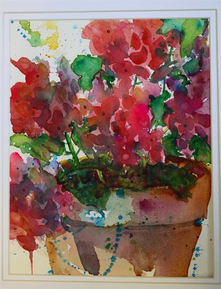 """I Need Color"" original fine art by Maggie Flatley"