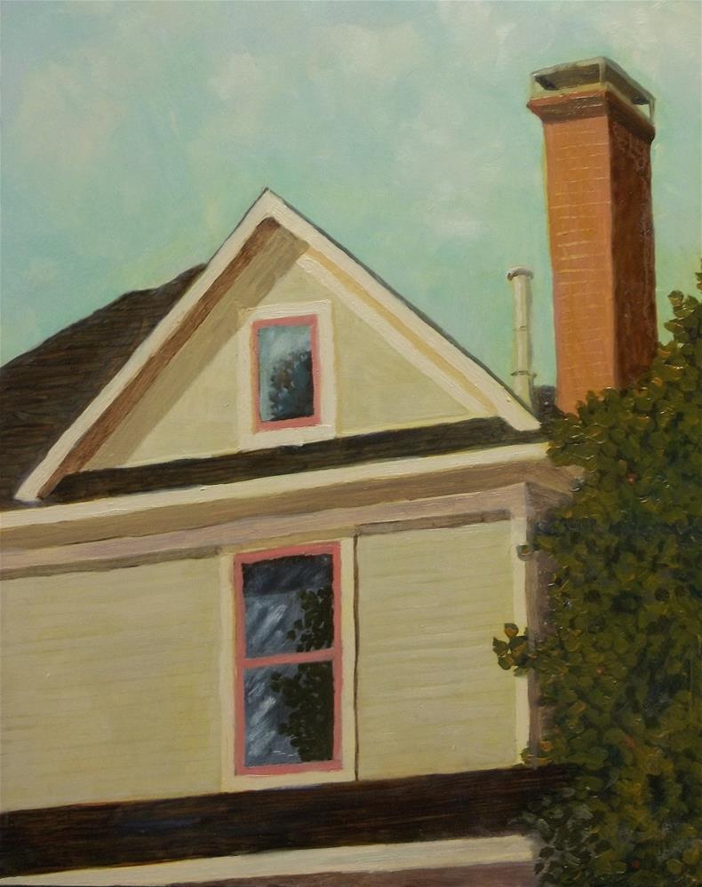 """Home Sweet Home"" original fine art by William W. Hoyt"
