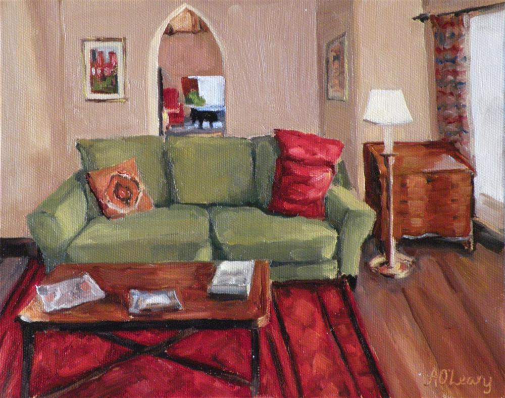 """Luhan House"" original fine art by Alice O'Leary"