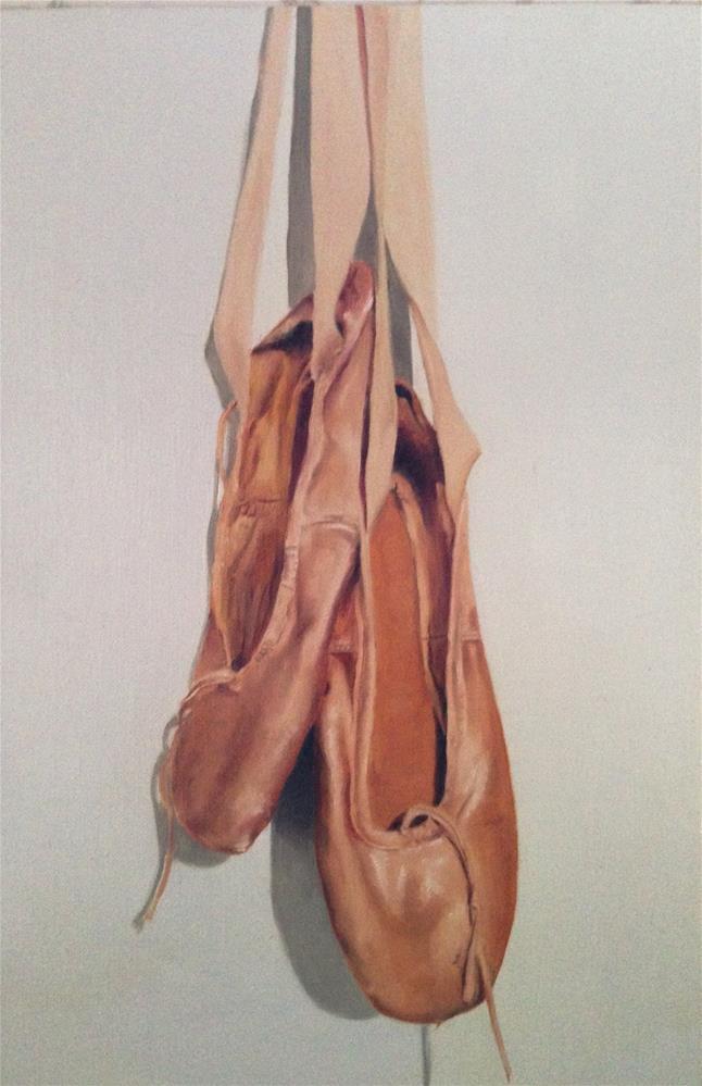 """""""Ballet Shoes"""" original fine art by James Coates"""