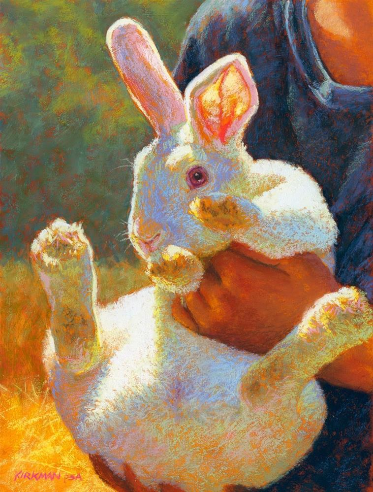 """The Unwilling Participant"" original fine art by Rita Kirkman"