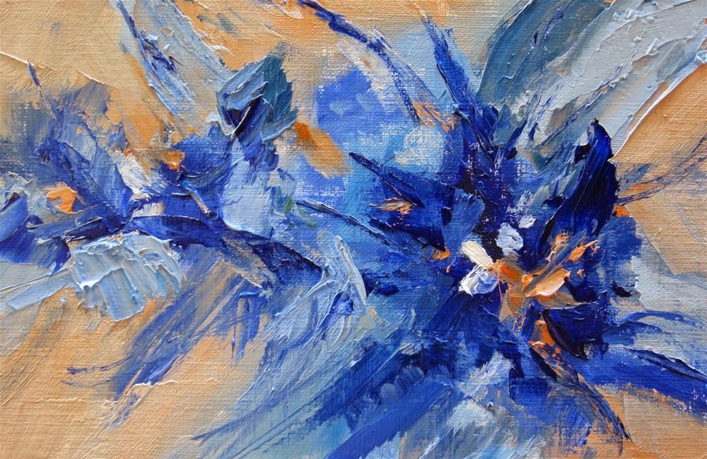 """""""Abstract 5"""" original fine art by Pat Fiorello"""