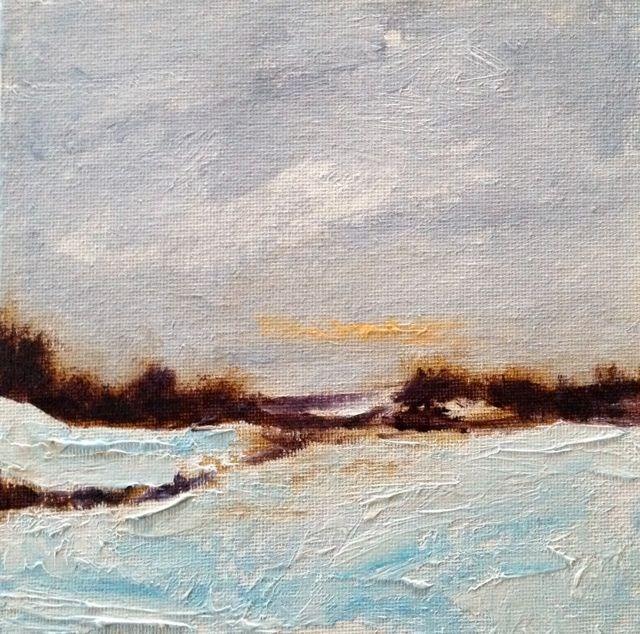 """""""Sunset 5"""" original fine art by Susan Hammer"""