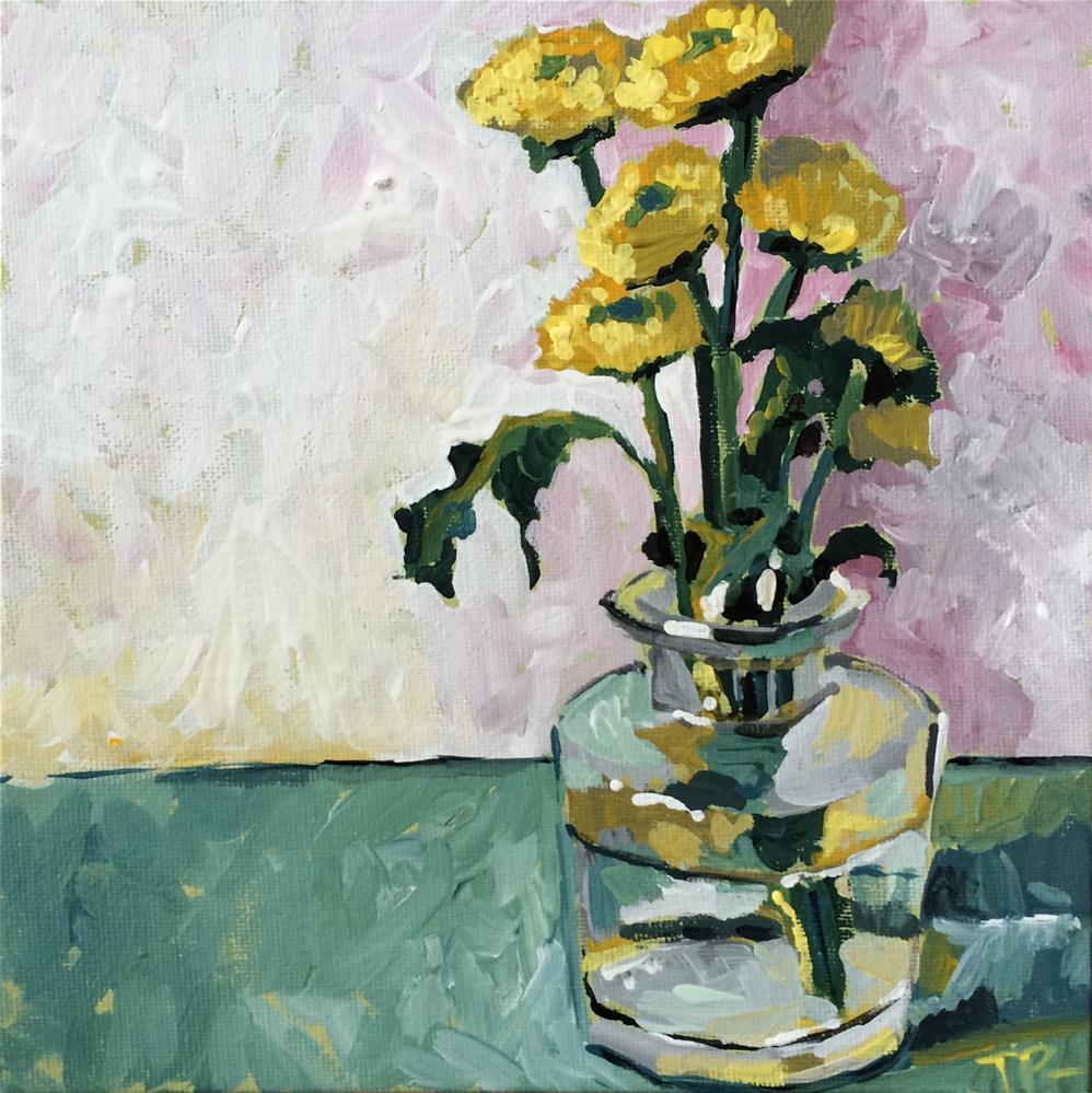 """""""Bouquet Remnants"""" original fine art by Teddi Parker"""