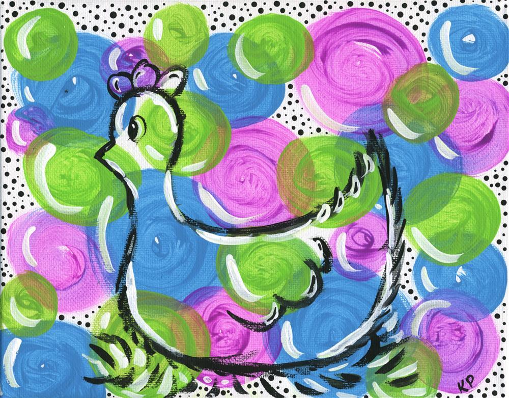 """Seeing Spots"" original fine art by Kali Parsons"