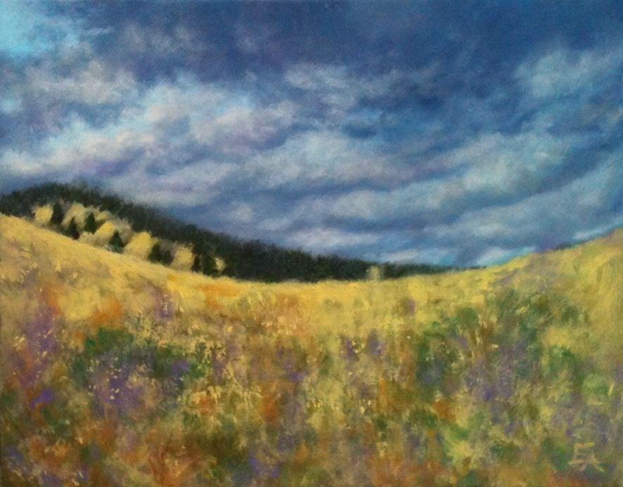 """Storm Has Passed"" original fine art by Elizabeth Elgin"