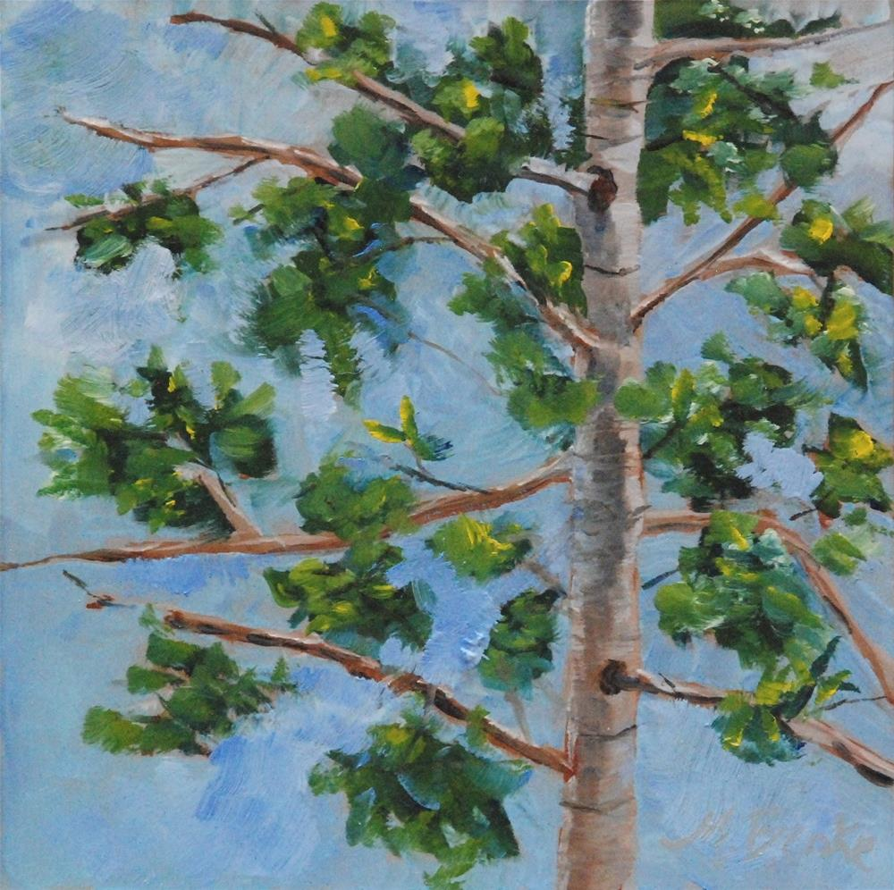 """""""Branching Out"""" original fine art by Mary Benke"""