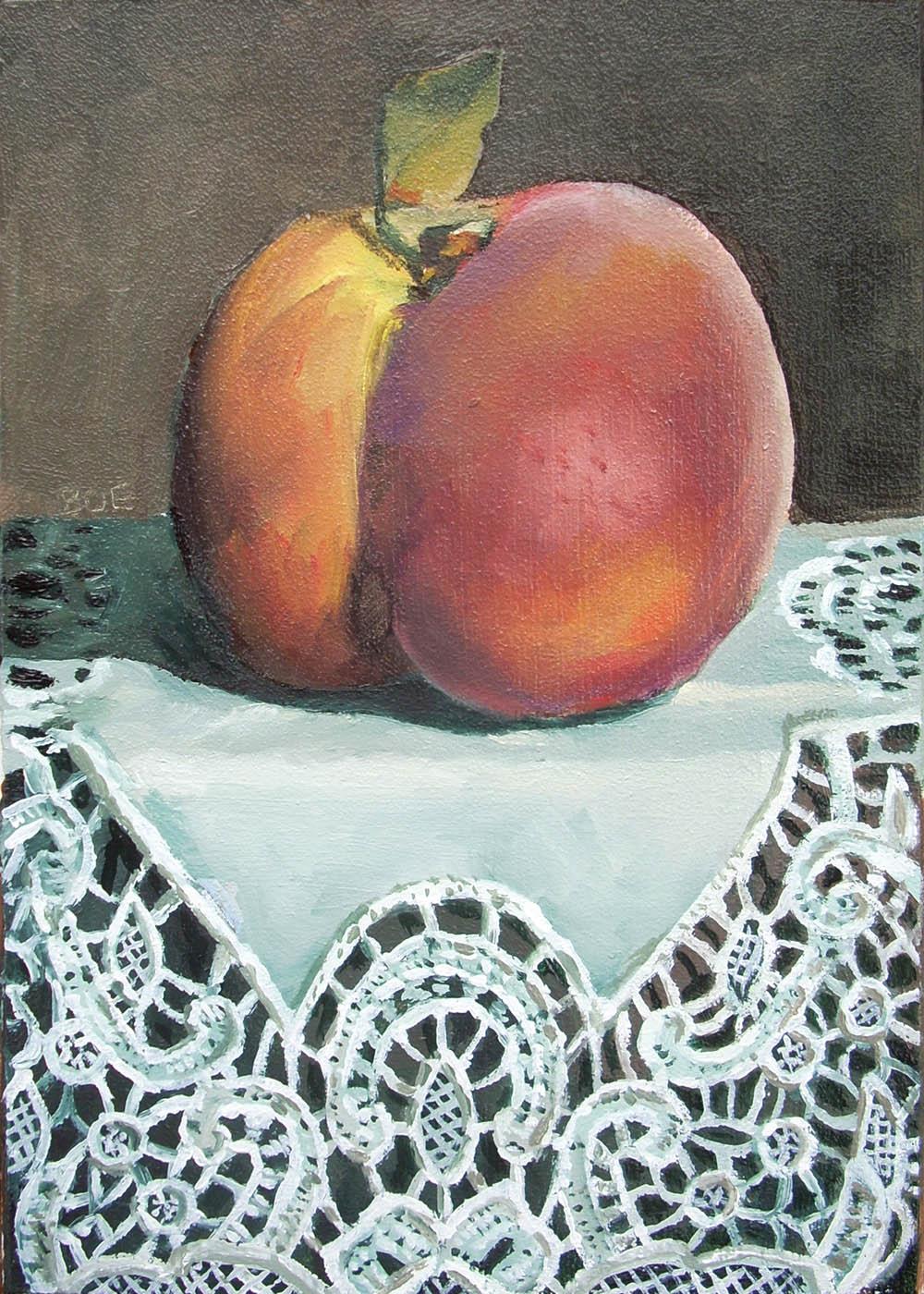 """""""Fuzz and Frills"""" original fine art by Karen Boe"""