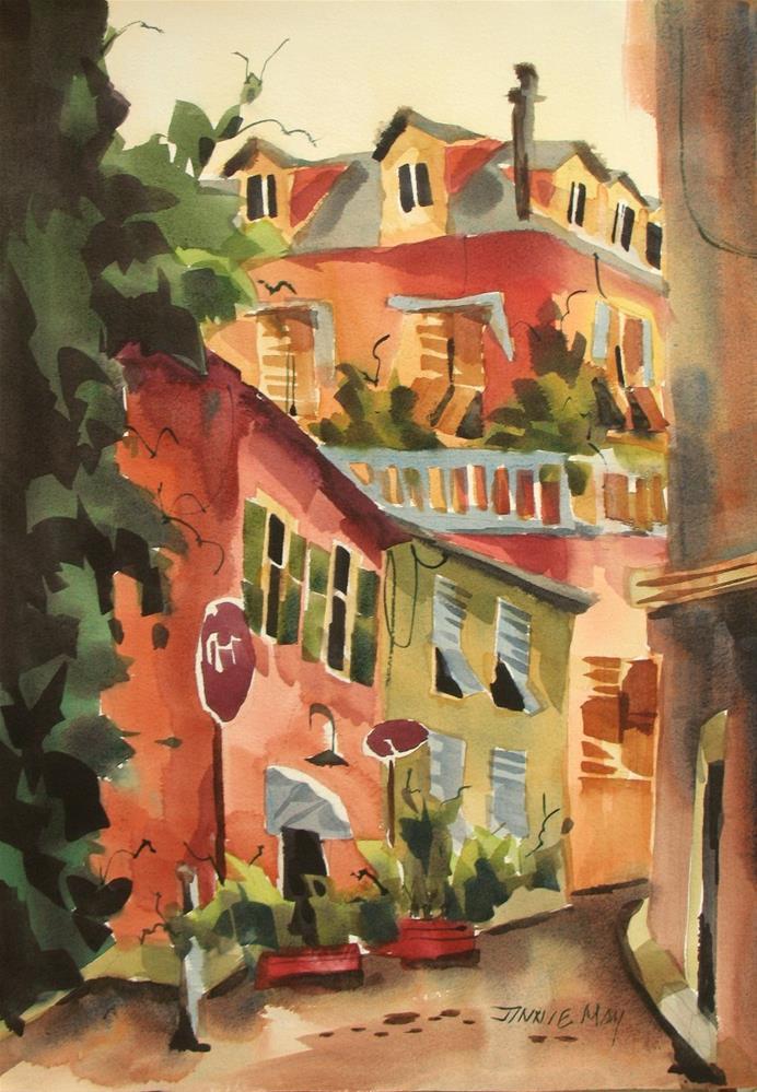 """Osteria #7"" original fine art by Jinnie May"