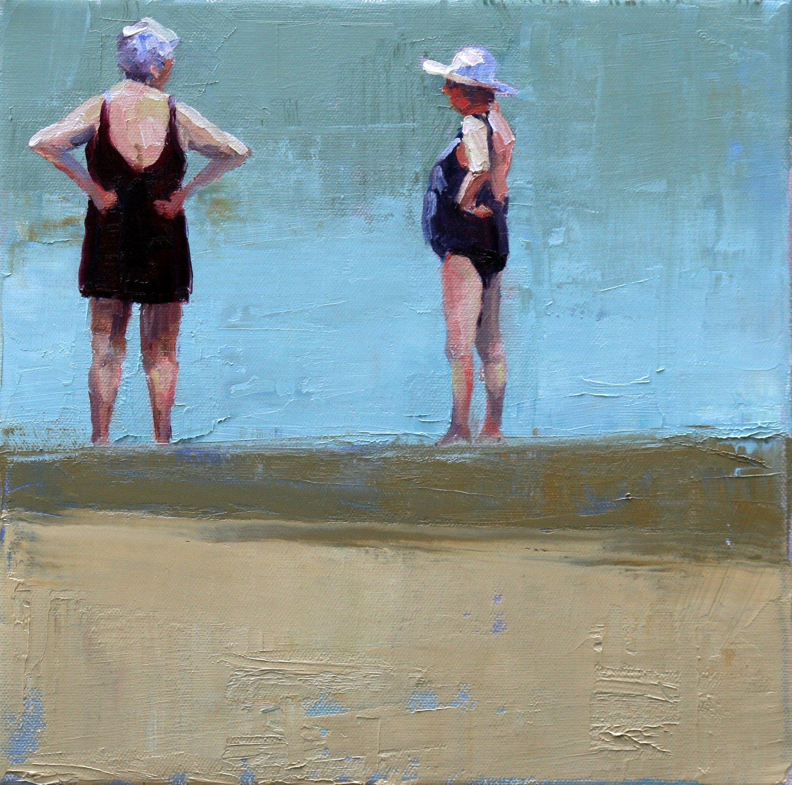 """water's edge"" original fine art by Carol Carmichael"