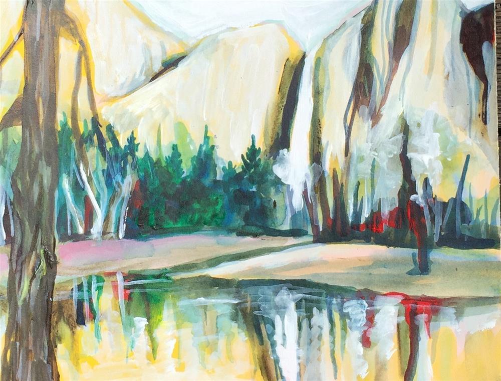 """Yosemite"" original fine art by Sally Posner"
