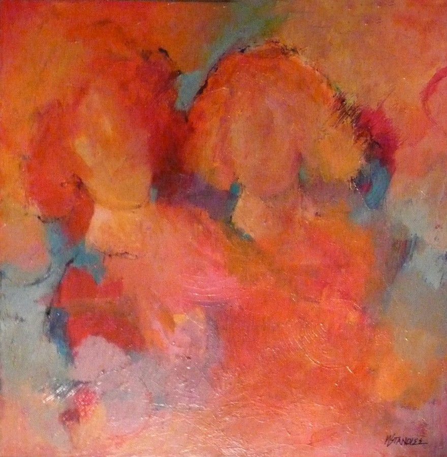 """Two or More Persons 11049"" original fine art by Nancy Standlee"