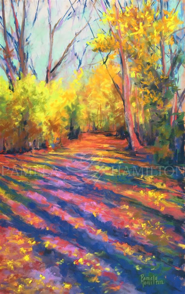 """Kaleidoscope"" original fine art by Pamela Hamilton"