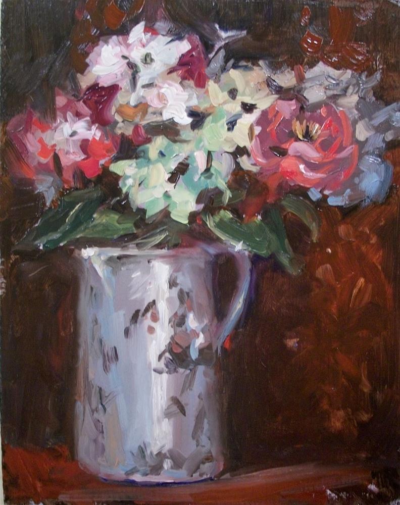 """Antique Bouquet"" original fine art by Doug Carter"