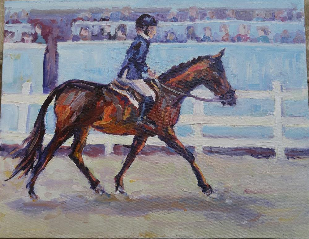 """Devon Proud"" original fine art by angela scully"