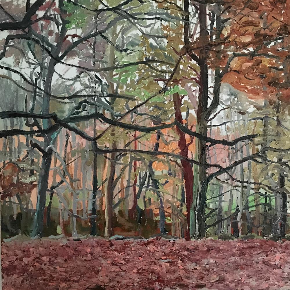 """Autumn"" original fine art by Milda Vaitiekunaite"