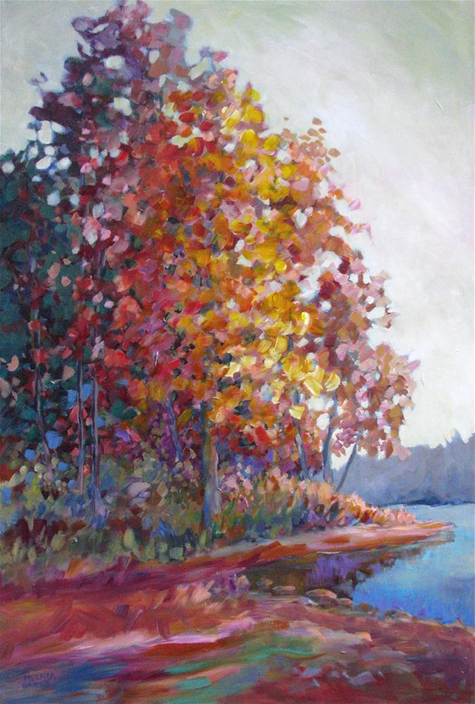 """""""Autumn Color Symphony"""" original fine art by Melissa Gannon"""