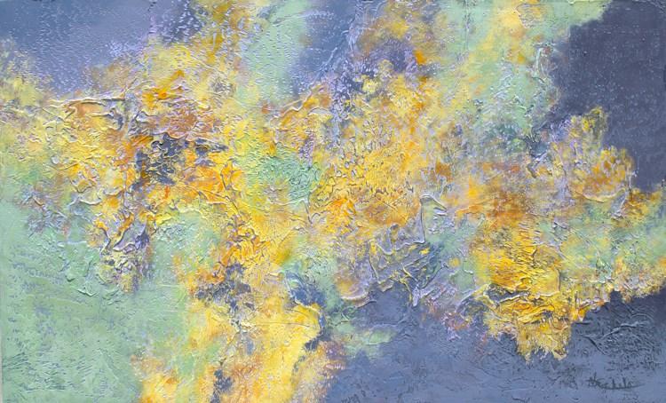 """Spring Breeze"" original fine art by Nancy Eckels"