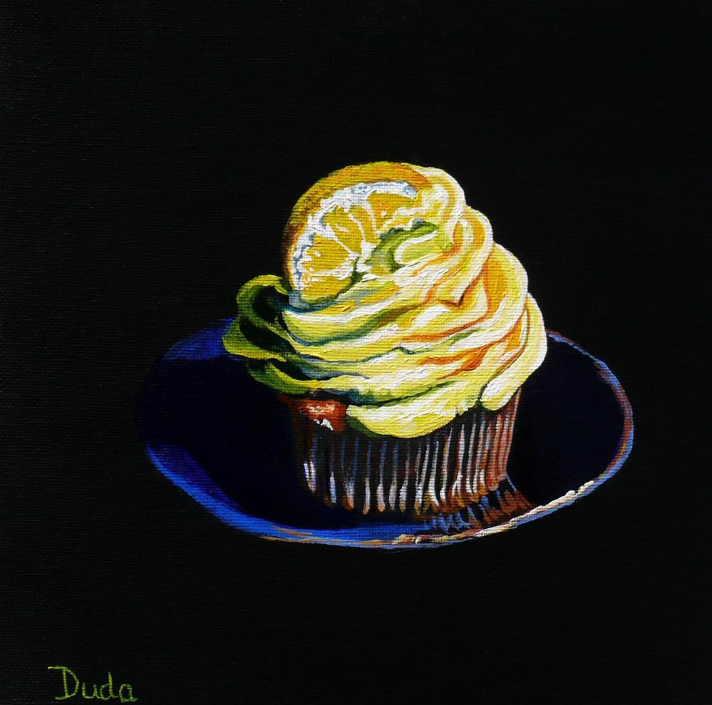 """""""Mellow Yellow"""" original fine art by Susan Duda"""