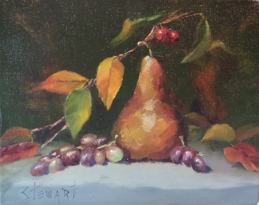 """""""Shades of Autumn"""" original fine art by Kris Stewart"""